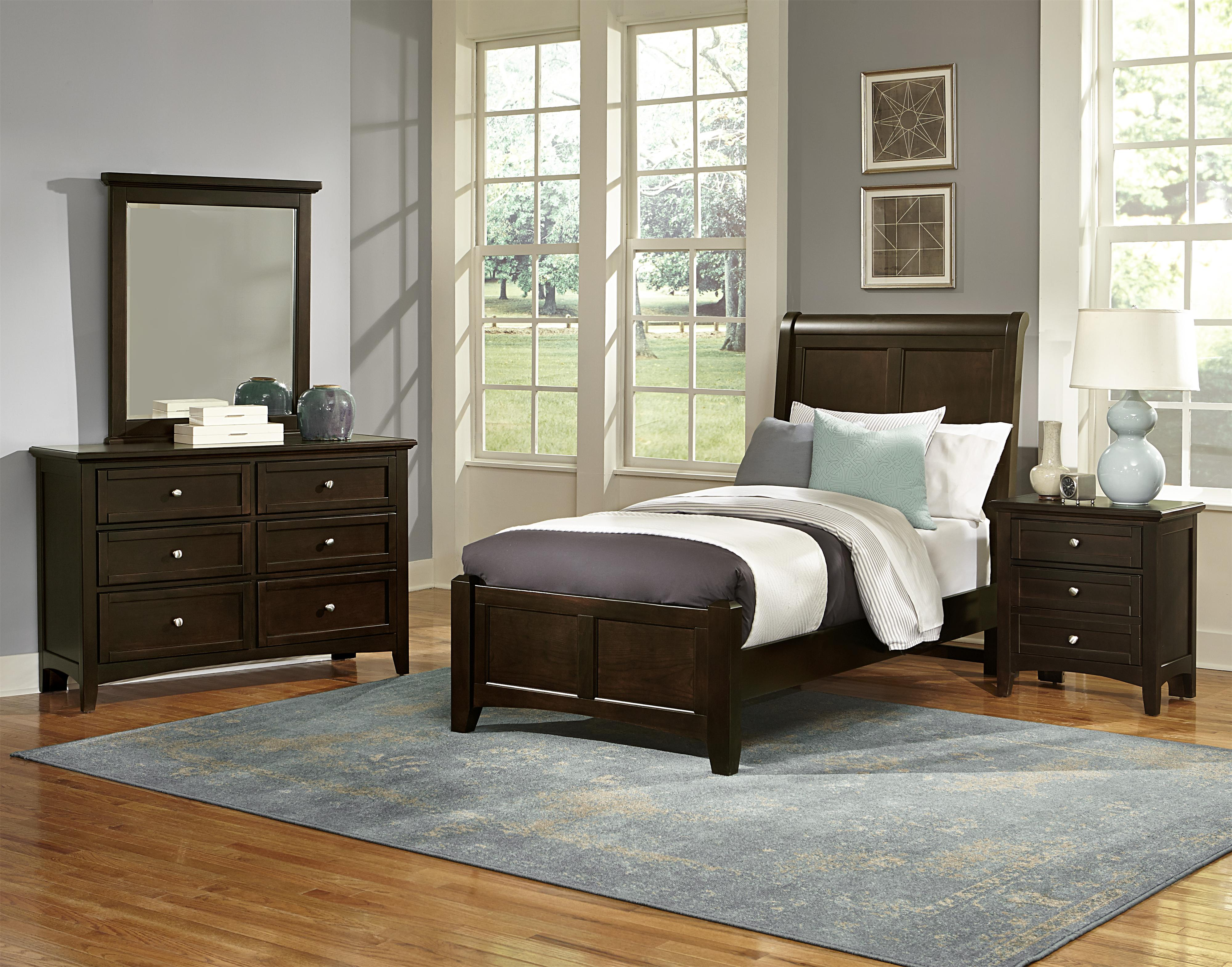 vaughan bassett bonanza twin bedroom group great american home store bedroom groups. Black Bedroom Furniture Sets. Home Design Ideas