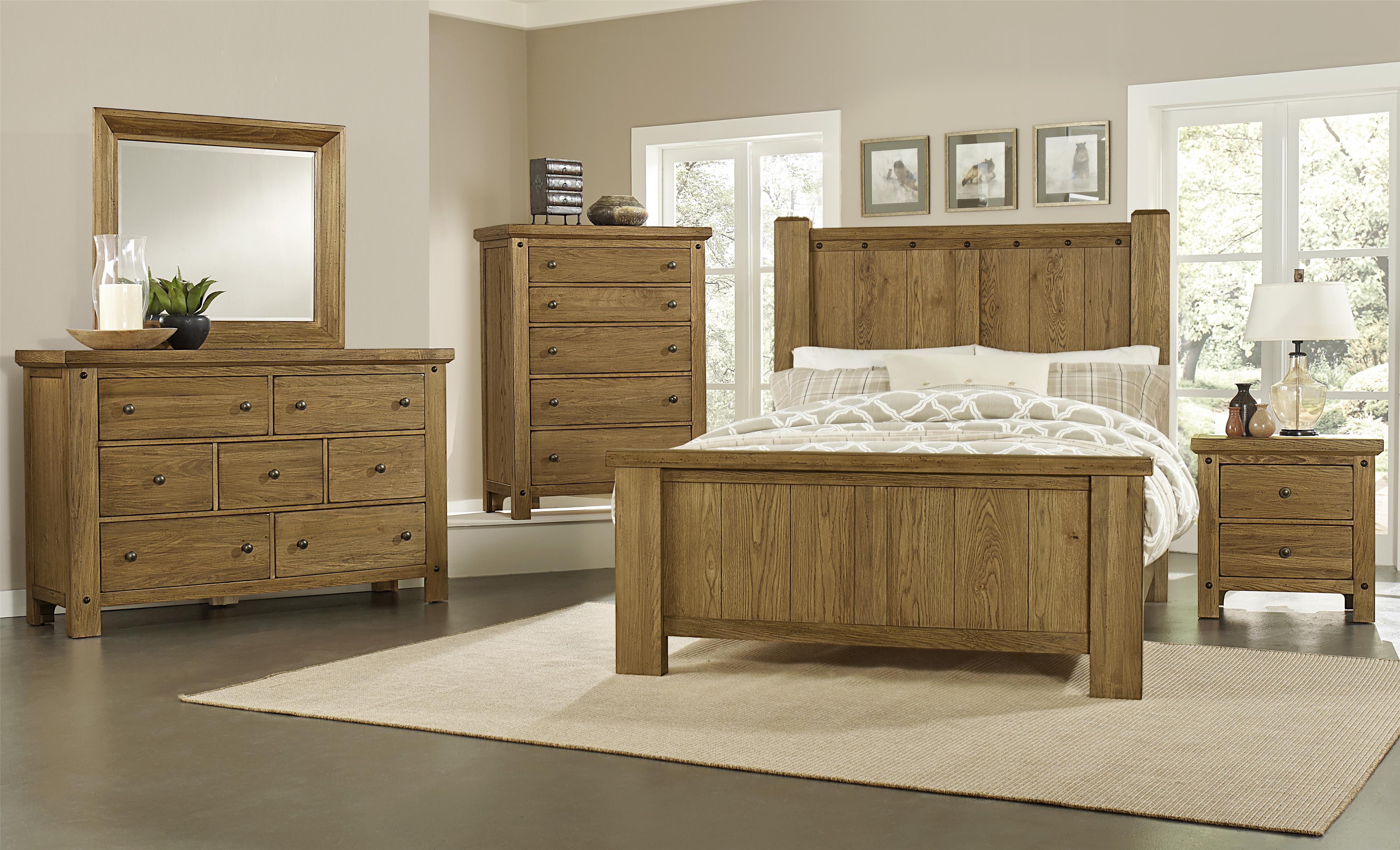 Vaughan Bassett Collaboration Queen Bedroom Group Wayside Furniture Bedro
