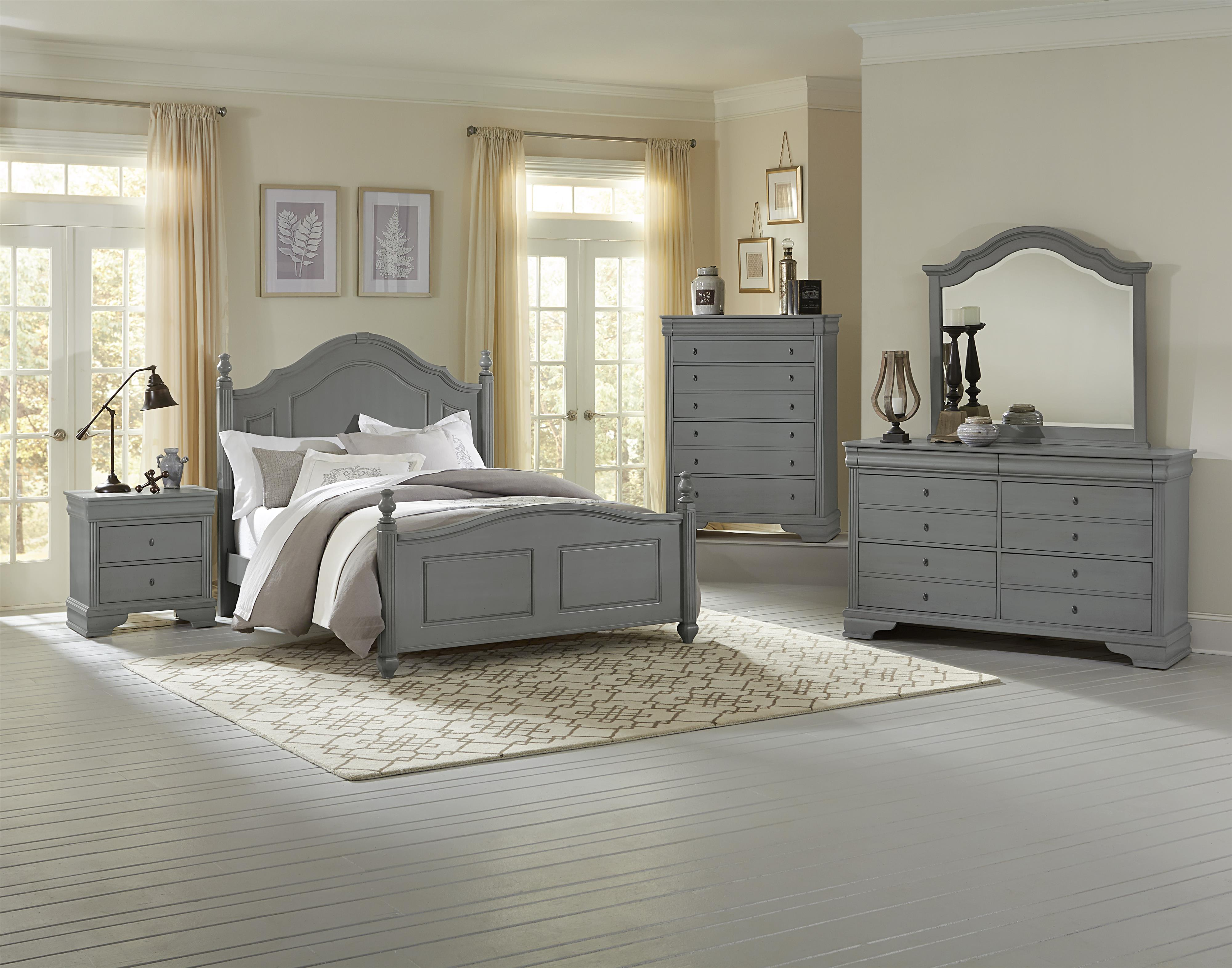 vaughan bassett french market queen bedroom group belfort furniture bedroom groups. Black Bedroom Furniture Sets. Home Design Ideas