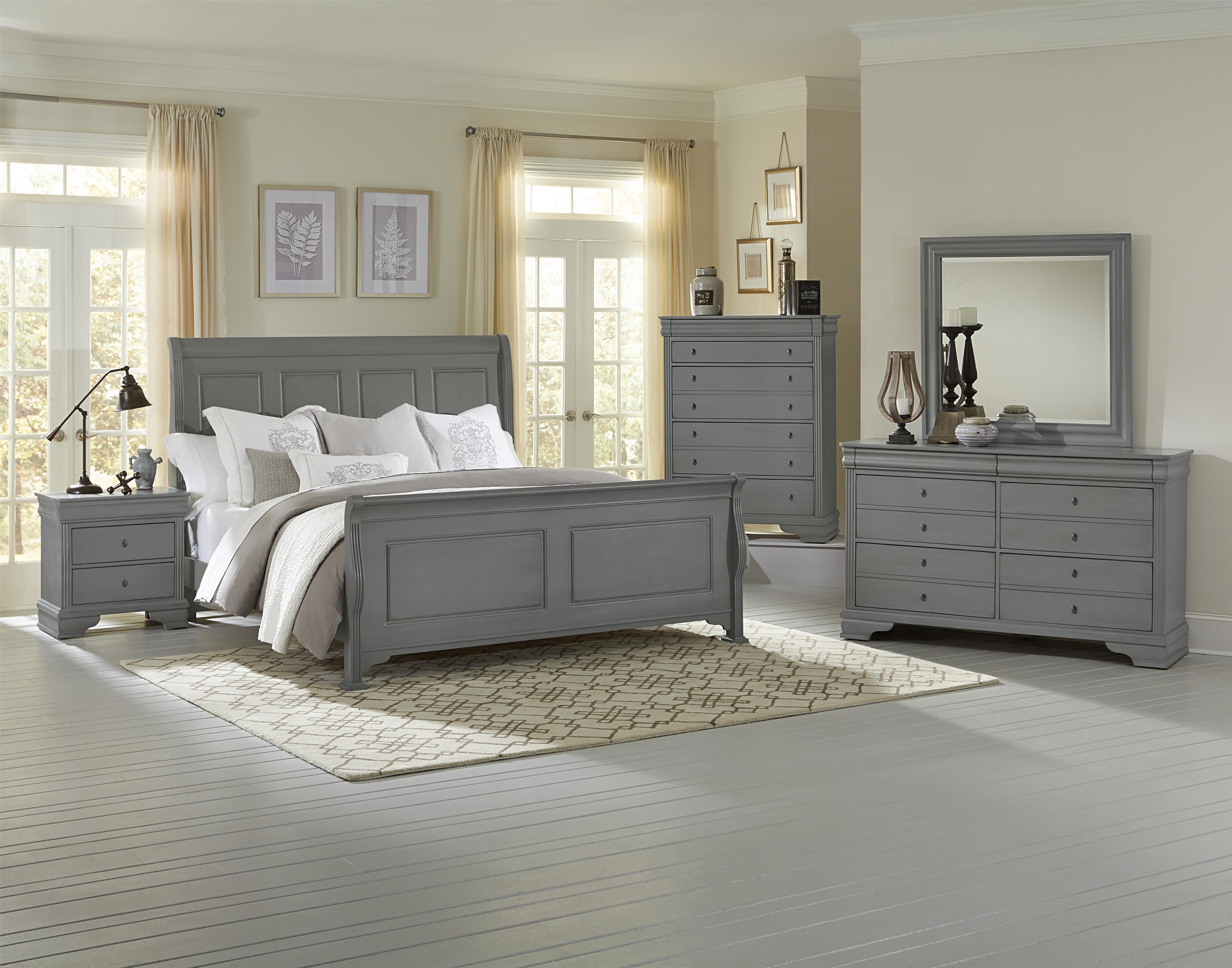 vaughan bassett french market full bedroom group belfort furniture