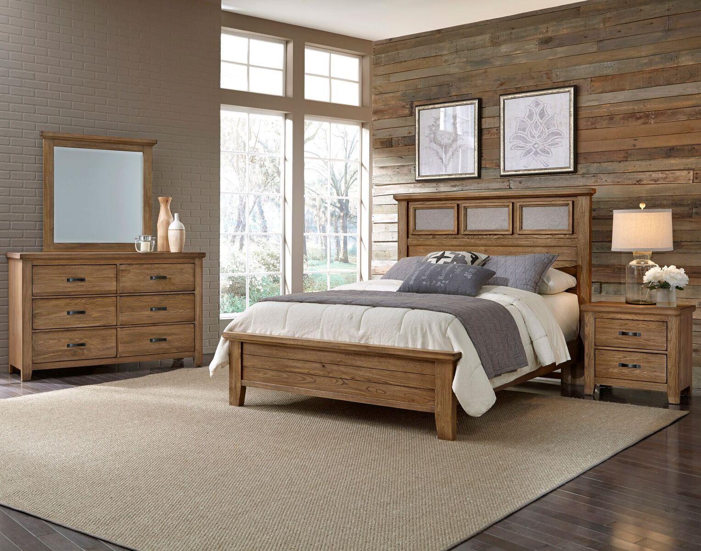 vaughan bassett cassell park king bedroom group olinde 39 s furniture bedroom groups. Black Bedroom Furniture Sets. Home Design Ideas