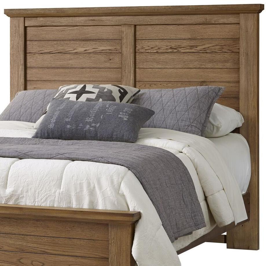 Vaughan Bassett Cassell Park 514 558 Full Queen Plank Headboard Hudson 39 S Furniture Headboards