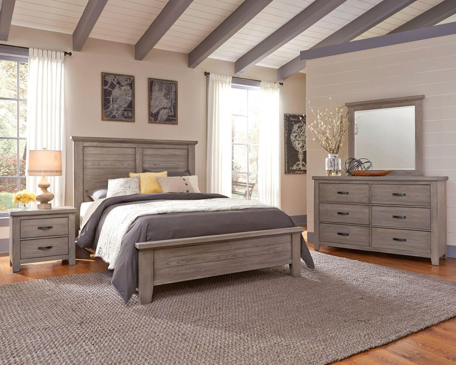 Vaughan Bassett Cassell Park Queen Bedroom Group Belfort Furniture Bedroom Groups