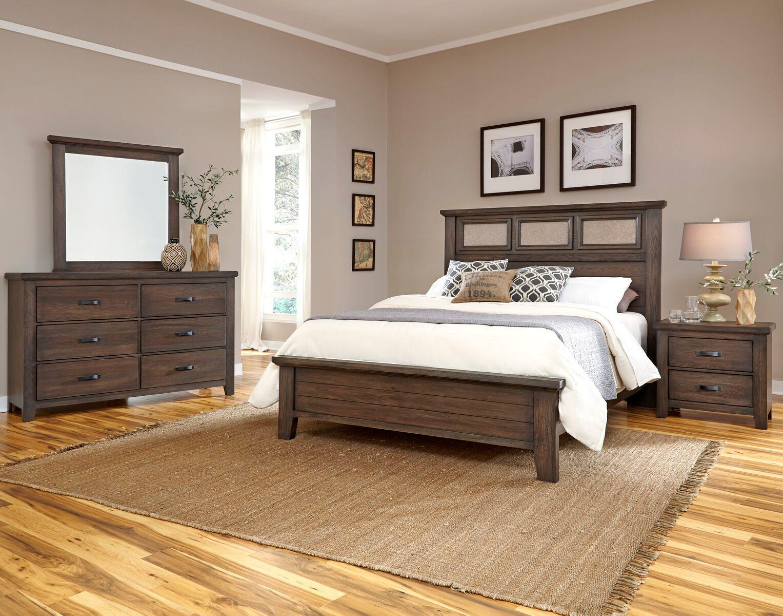 vaughan bassett cassell park king bedroom group item number 518 k