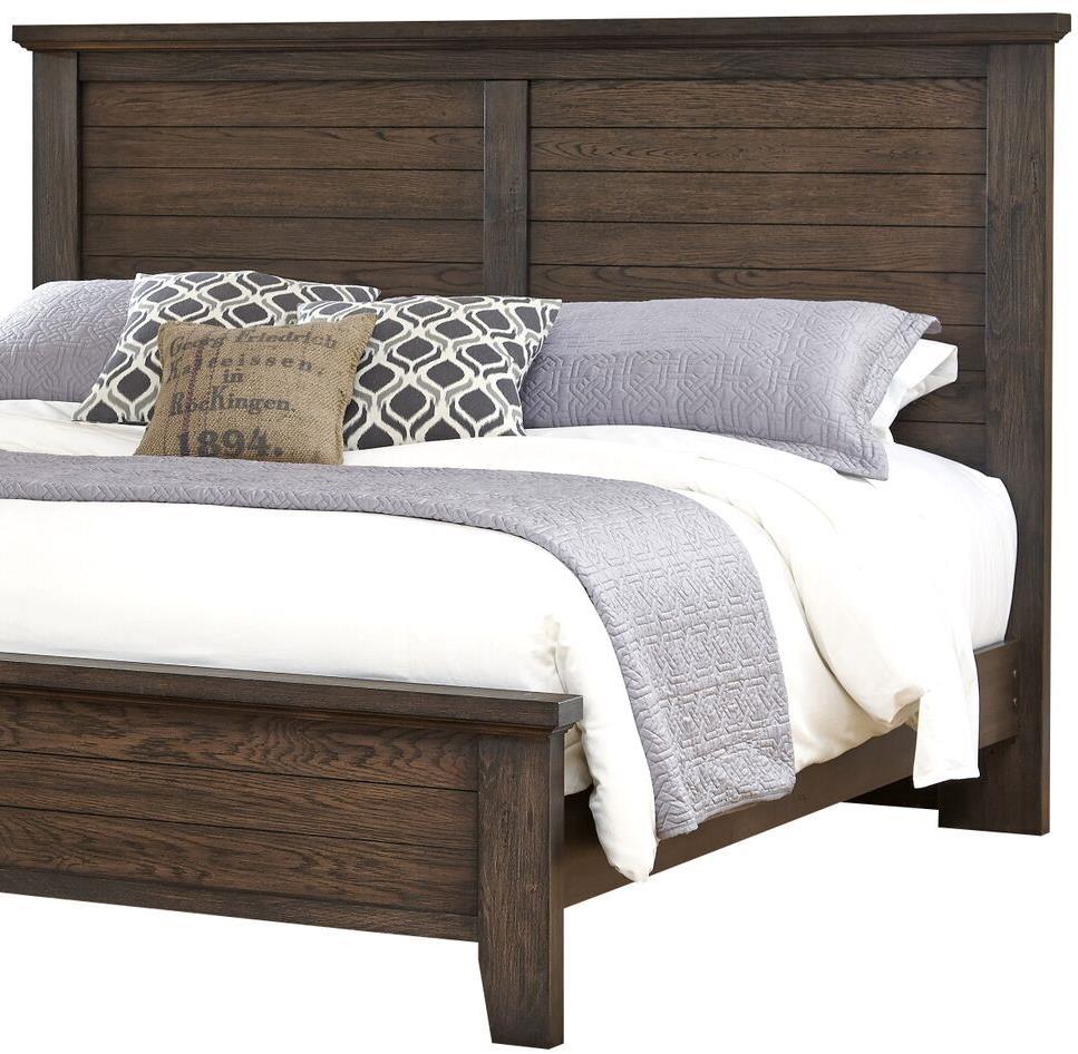Vaughan bassett cassell park full queen plank headboard Gramercy bedroom furniture collection