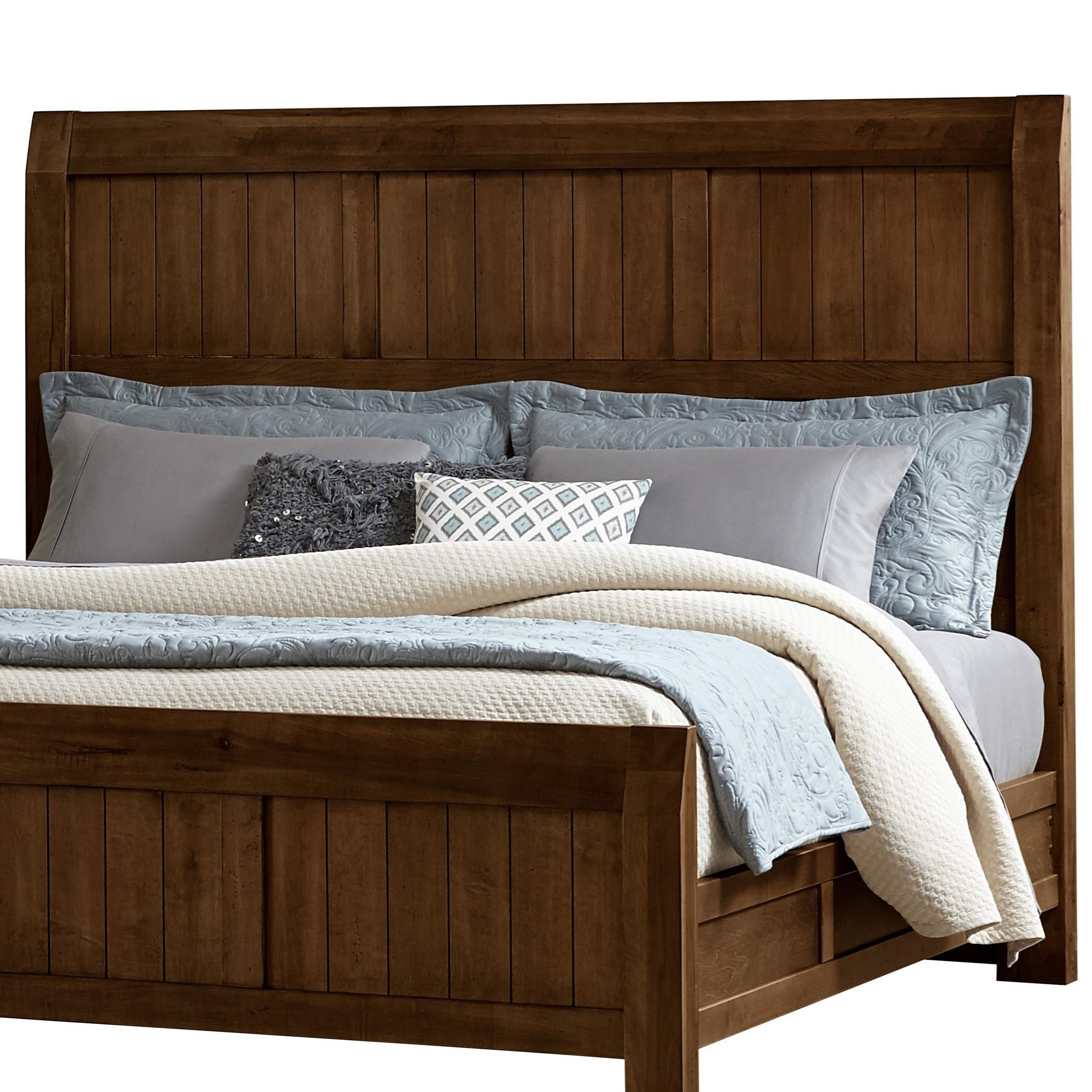 Vaughan Bassett Timber Creek Queen Timber Headboard Value City Furniture Headboards