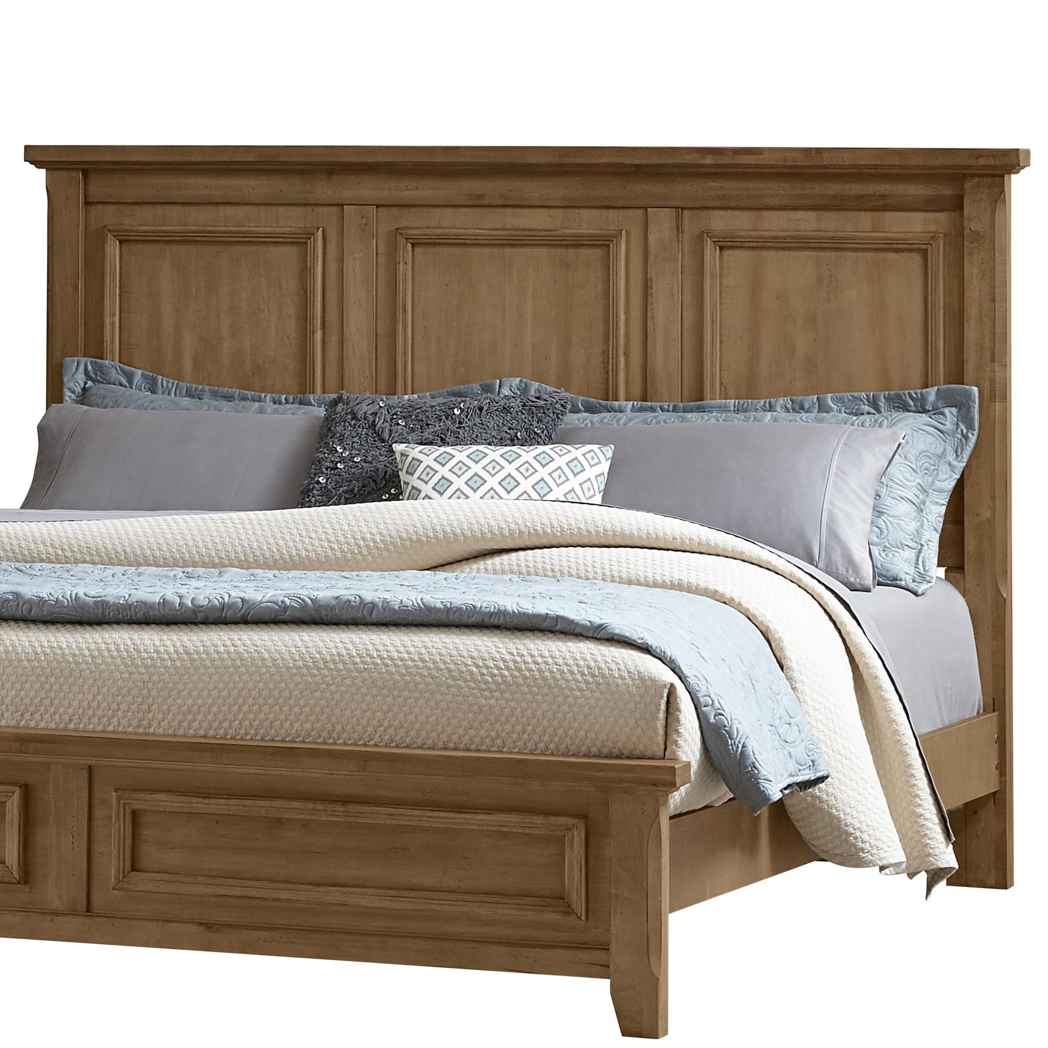 Vaughan Bassett Timber Creek King Mansion Headboard
