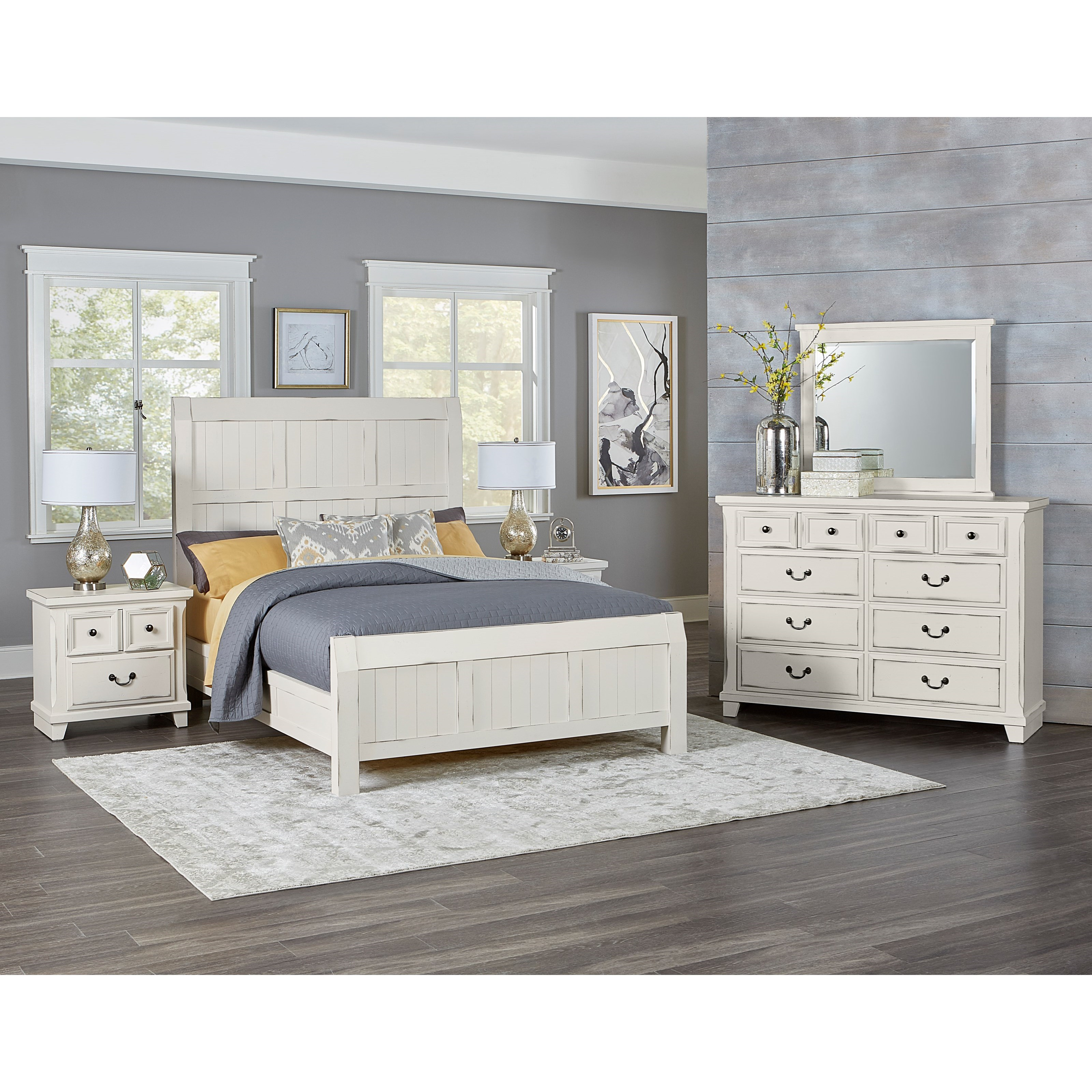 Vaughan Bassett Timber Creek Queen Bedroom Group Belfort Furniture Bedroom Groups