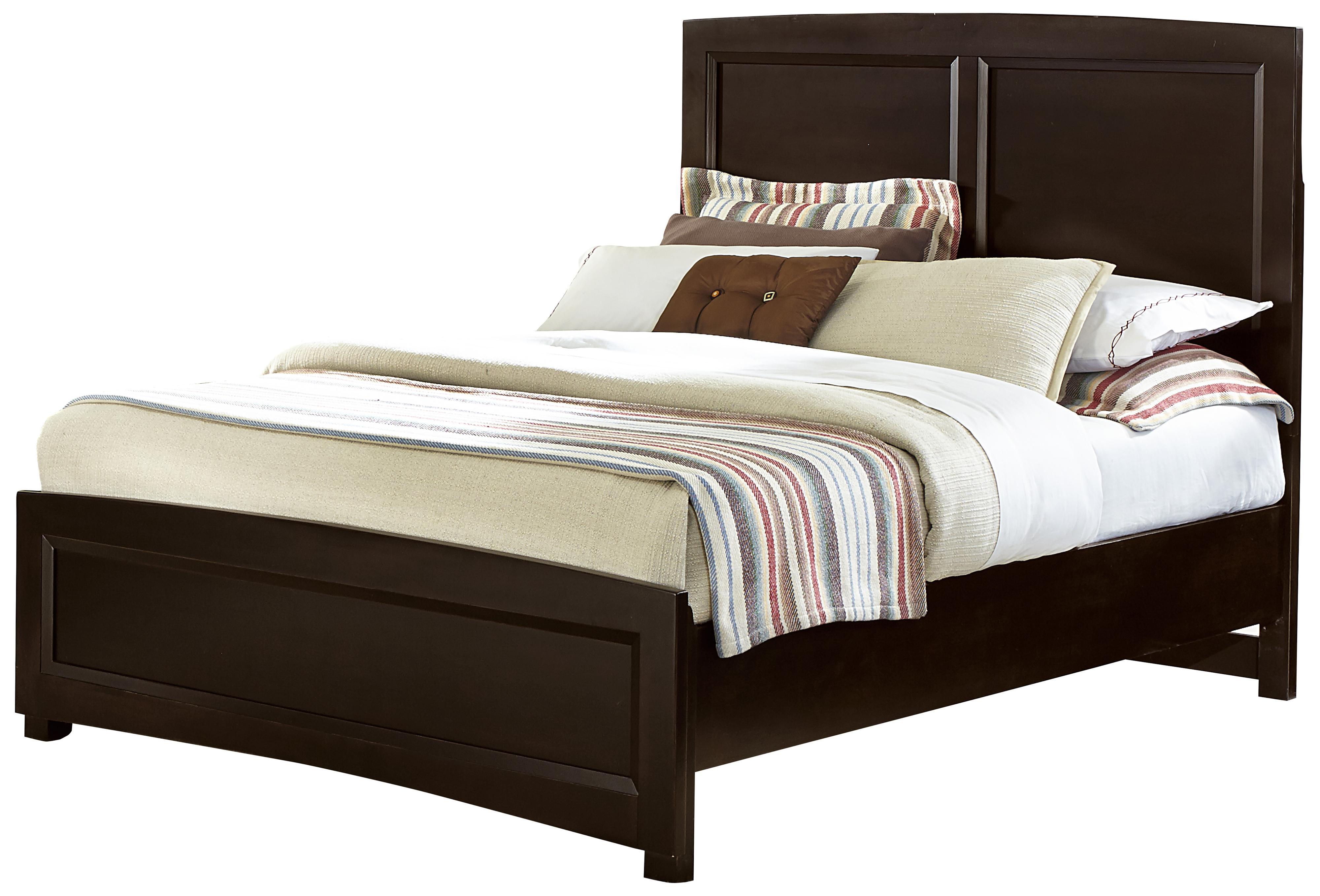 Vaughan bassett transitions full panel bed wayside for Wayside furniture