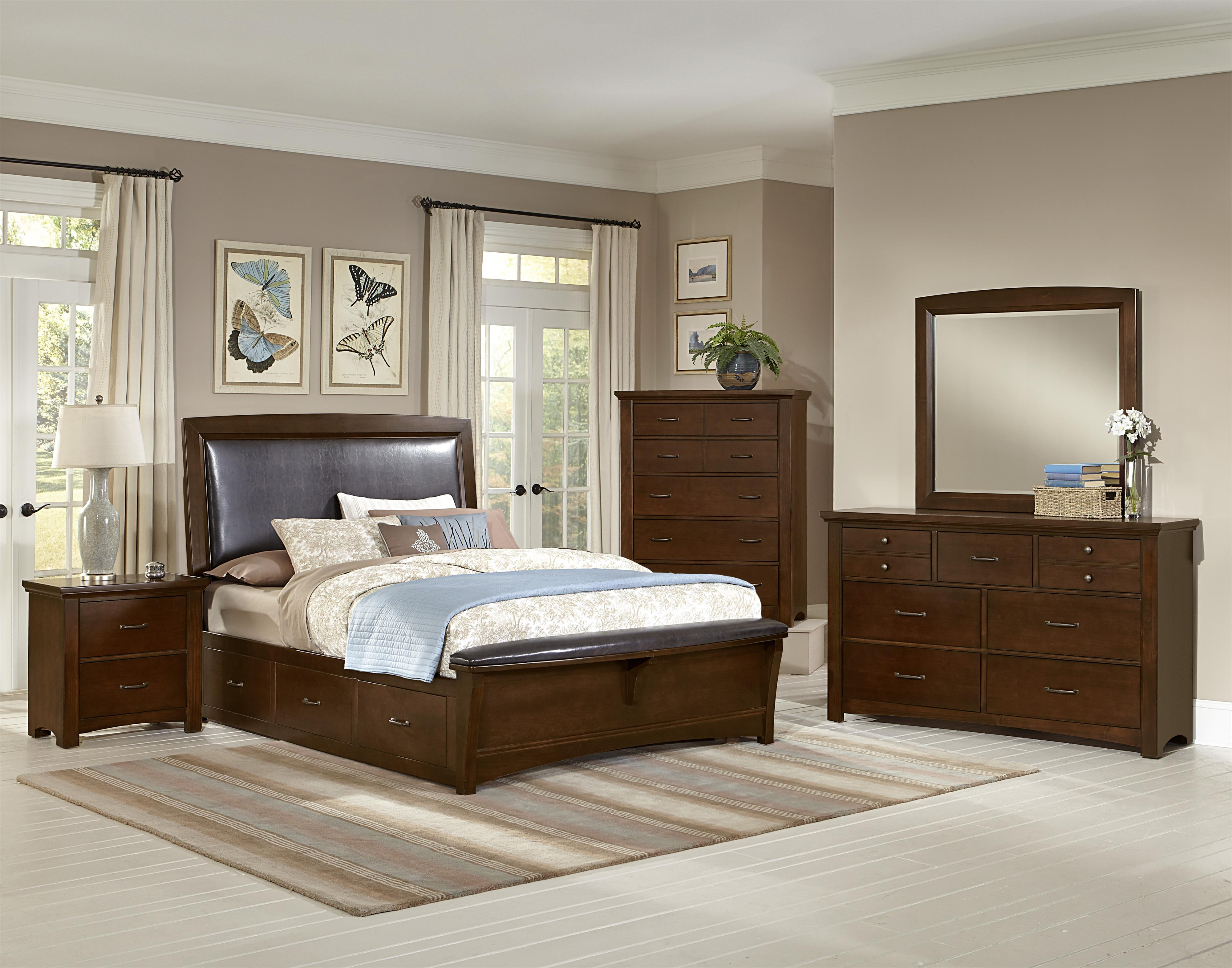 Vaughan Bassett Transitions Queen Bedroom Group Olinde s