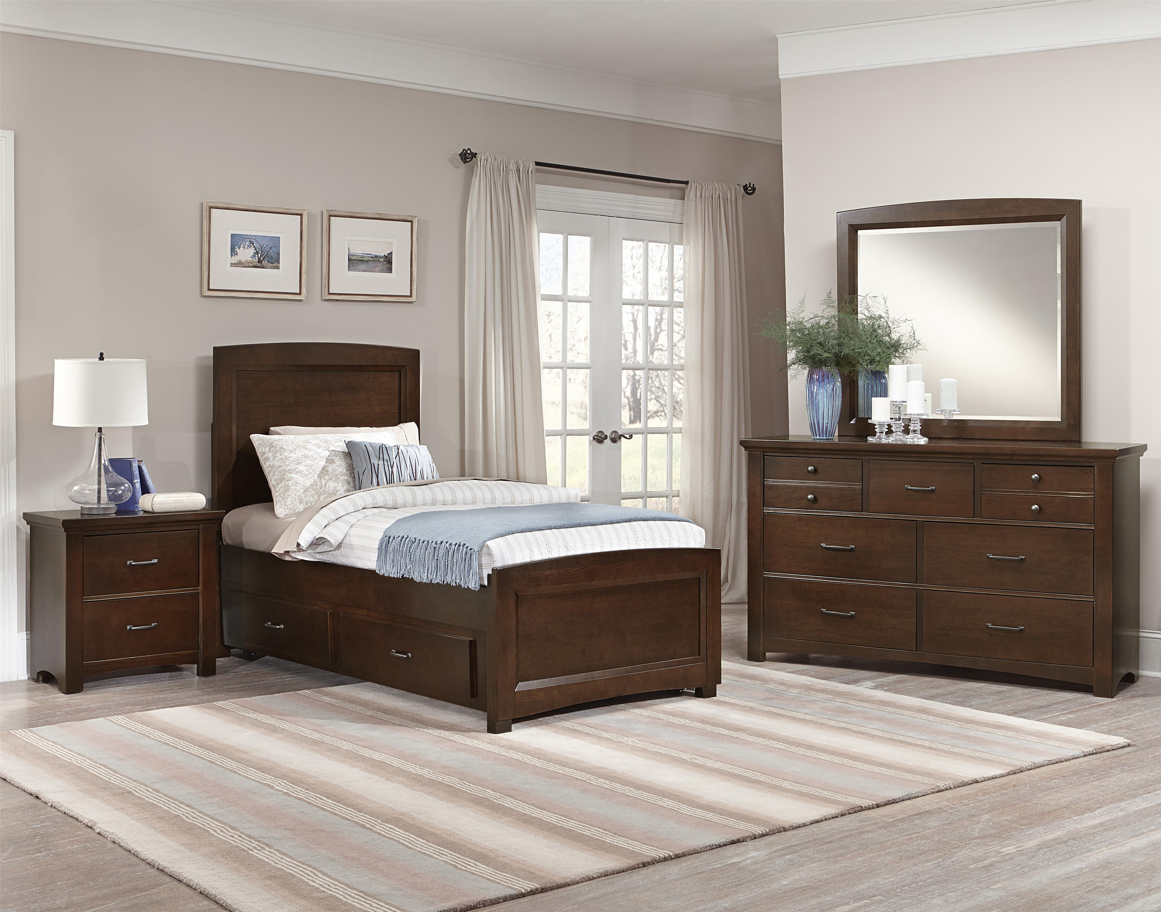vaughan bassett transitions twin bedroom group h l stephens bedroom groups. Black Bedroom Furniture Sets. Home Design Ideas