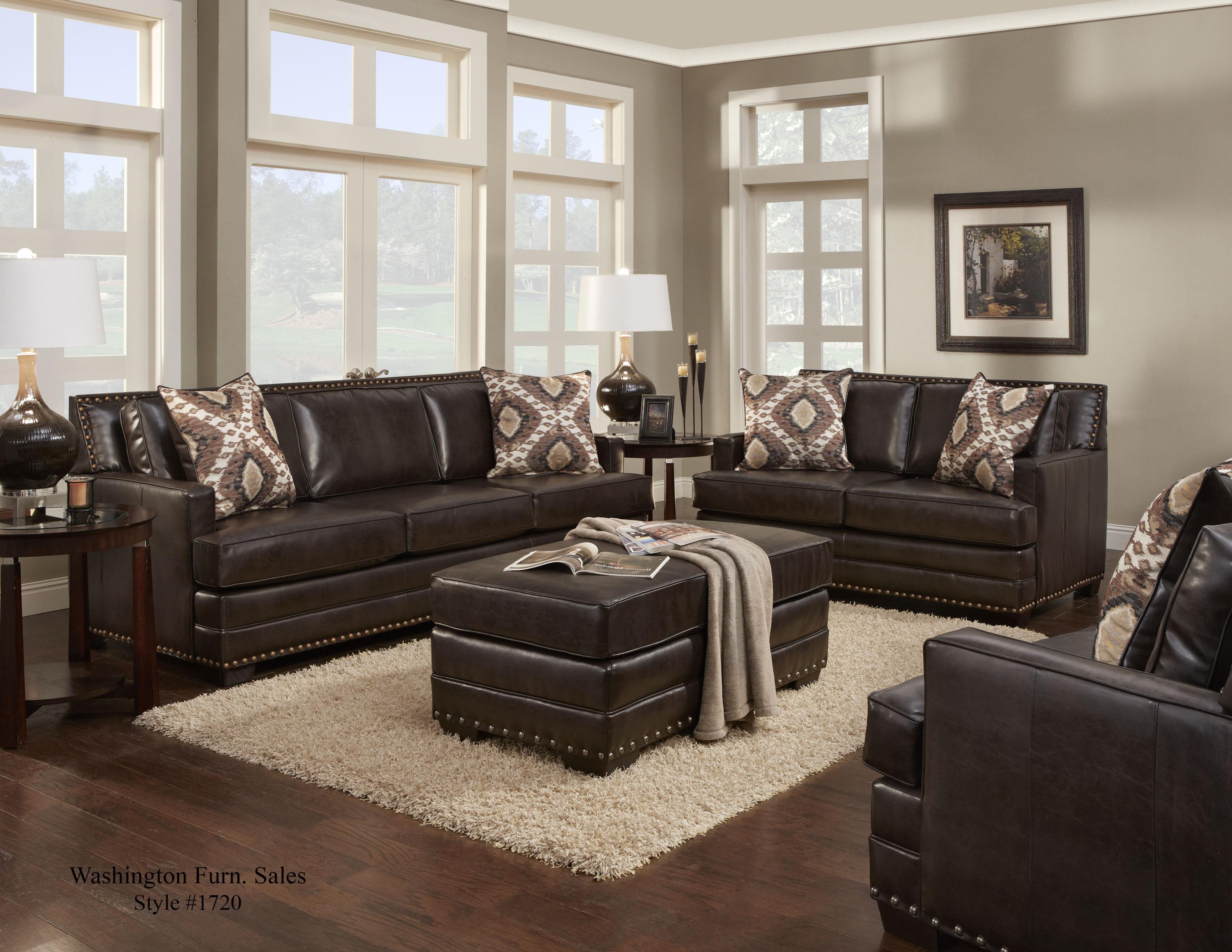 Washington Furniture 1720 Living Room Group Del Sol Furniture Upholstery Group