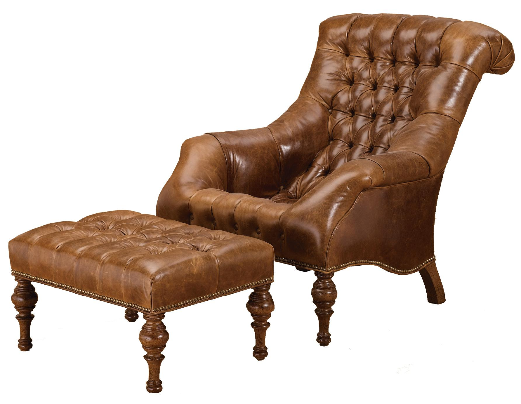 Wesley Hall Accent Chairs and Ottomans Traditional ...