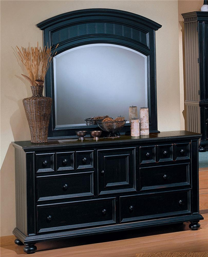 Winners only cape cod 6 drawer dresser and landscape for Cape cod style bedroom furniture