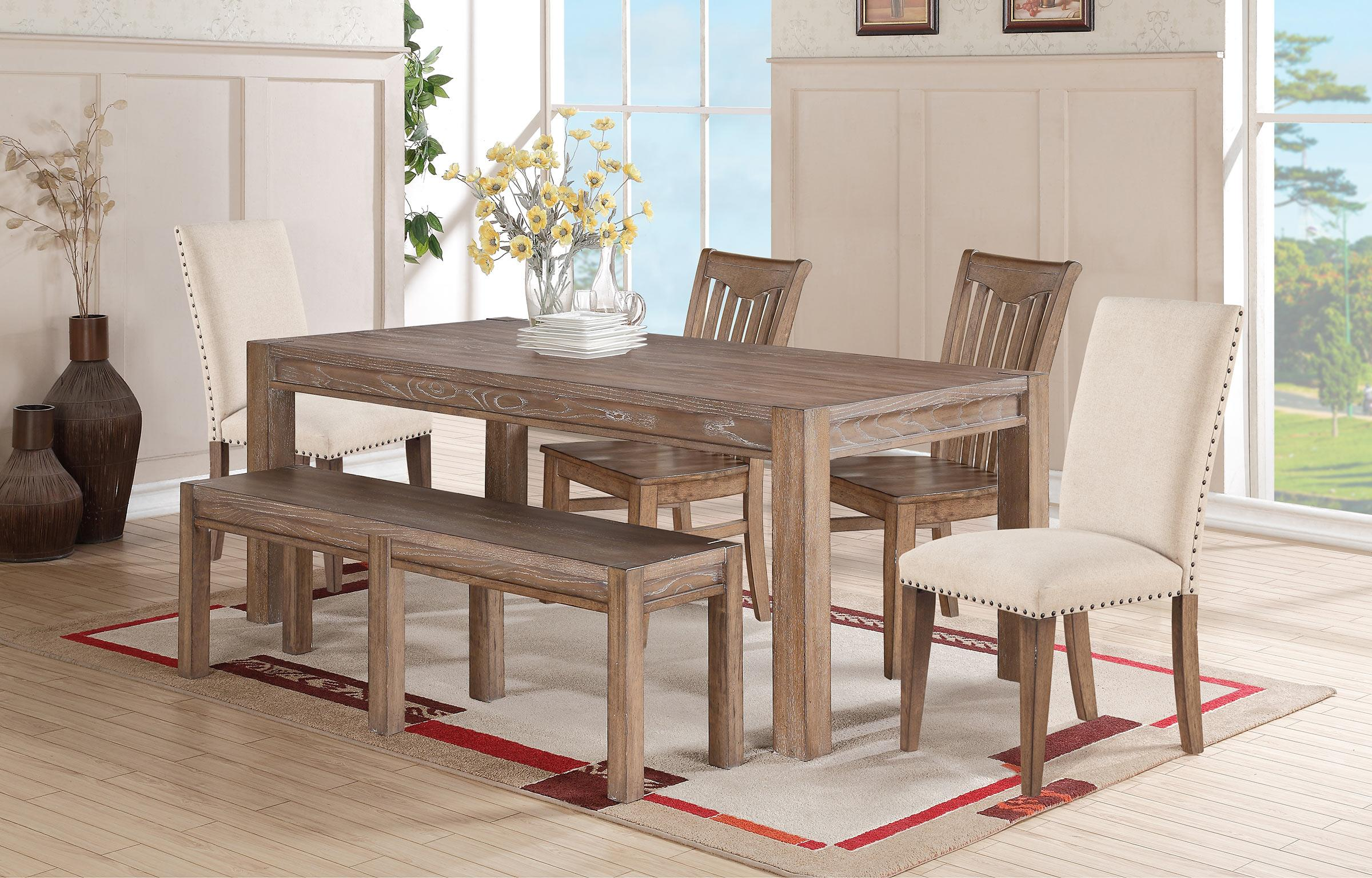 Winners only urbana leg table with 18 butterfly leaf for Dining room table only
