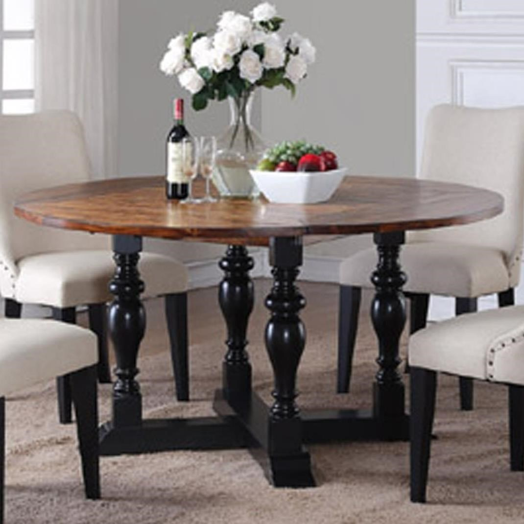 Winners only weston drop leaf square round dining table for Dining table only