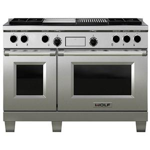 wolf df604gf60 dual fuel range with double oven 4. Black Bedroom Furniture Sets. Home Design Ideas
