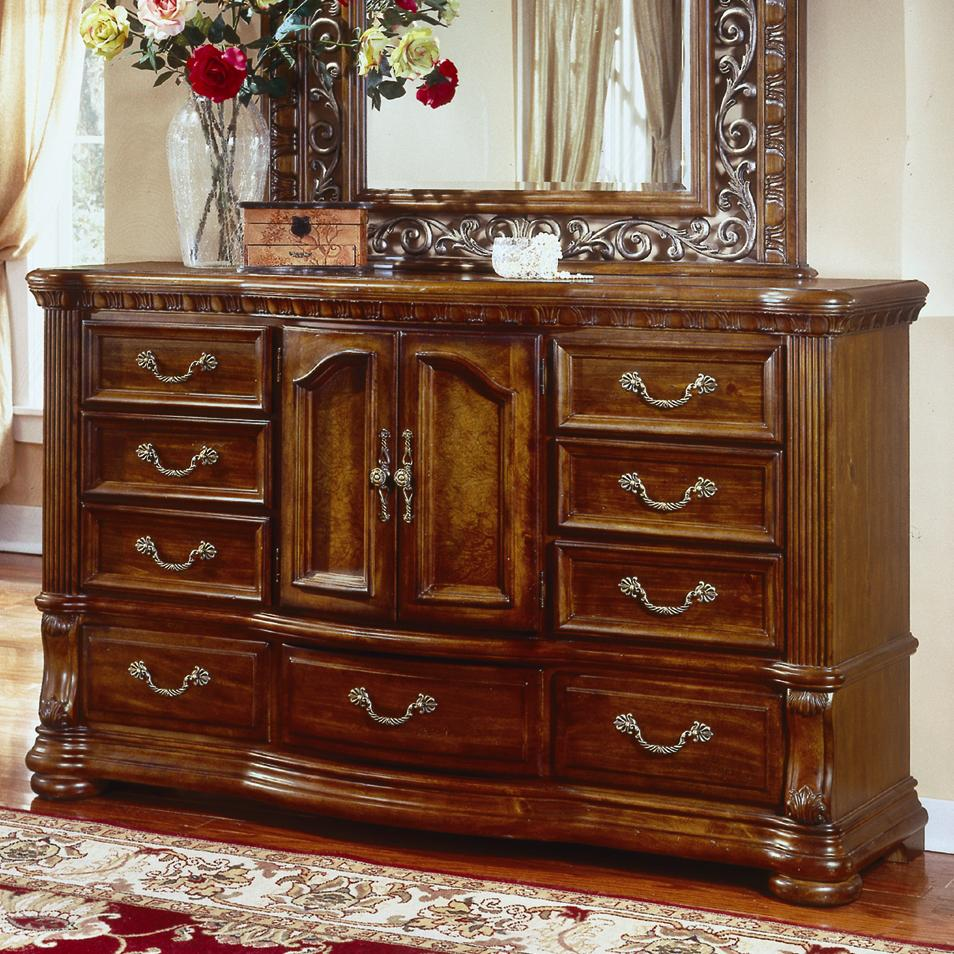 Flexsteel wynwood collection cordoba nine drawer door dresser johnny janosik dressers for Wynwood furniture bedroom set cordoba