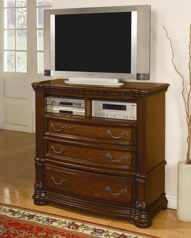 bedroom furniture media chests flexsteel wynwood collection cordoba
