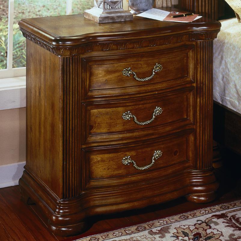 bedroom furniture night stands flexsteel wynwood collection cordoba