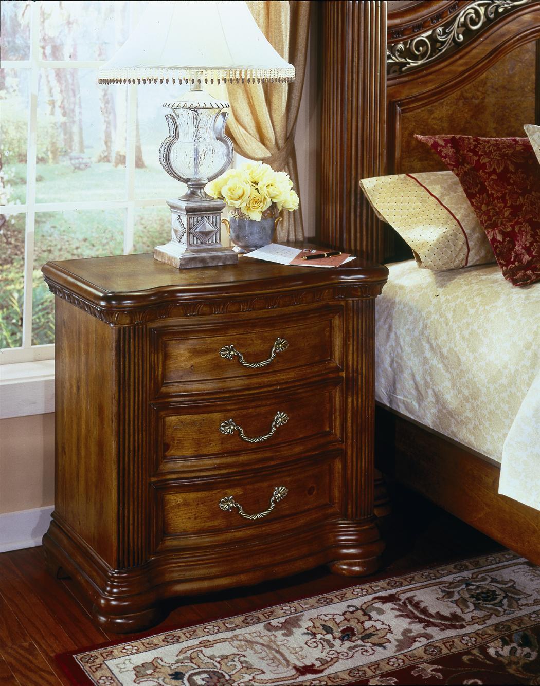 collection cordoba three drawer night stand hudson 39 s furniture
