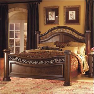 Flexsteel Wynwood Collection Granada King Sleigh Bed With