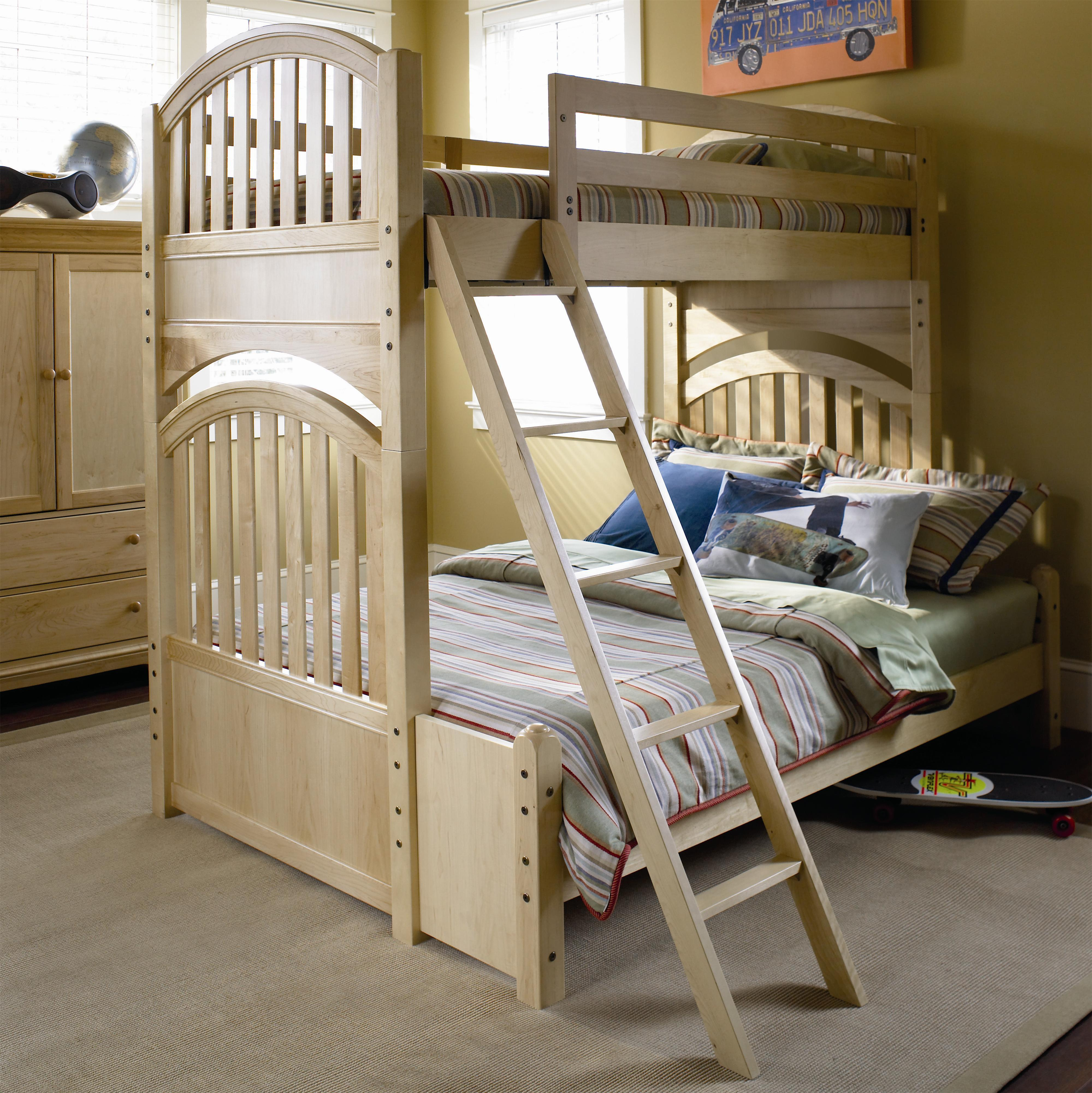 American furniture bunk beds musicascc baixar shop for Furniture of america pello full over full slatted bunk bed