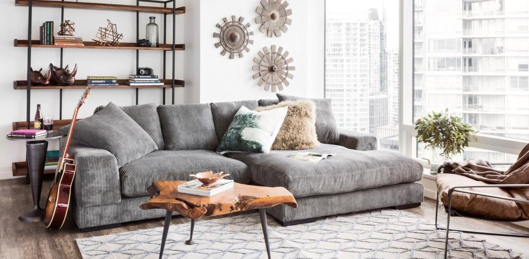 Smaller scale sofas