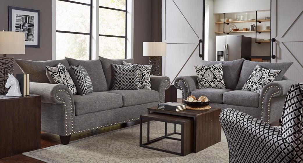 New Glitz and Glamor Living Room Collection