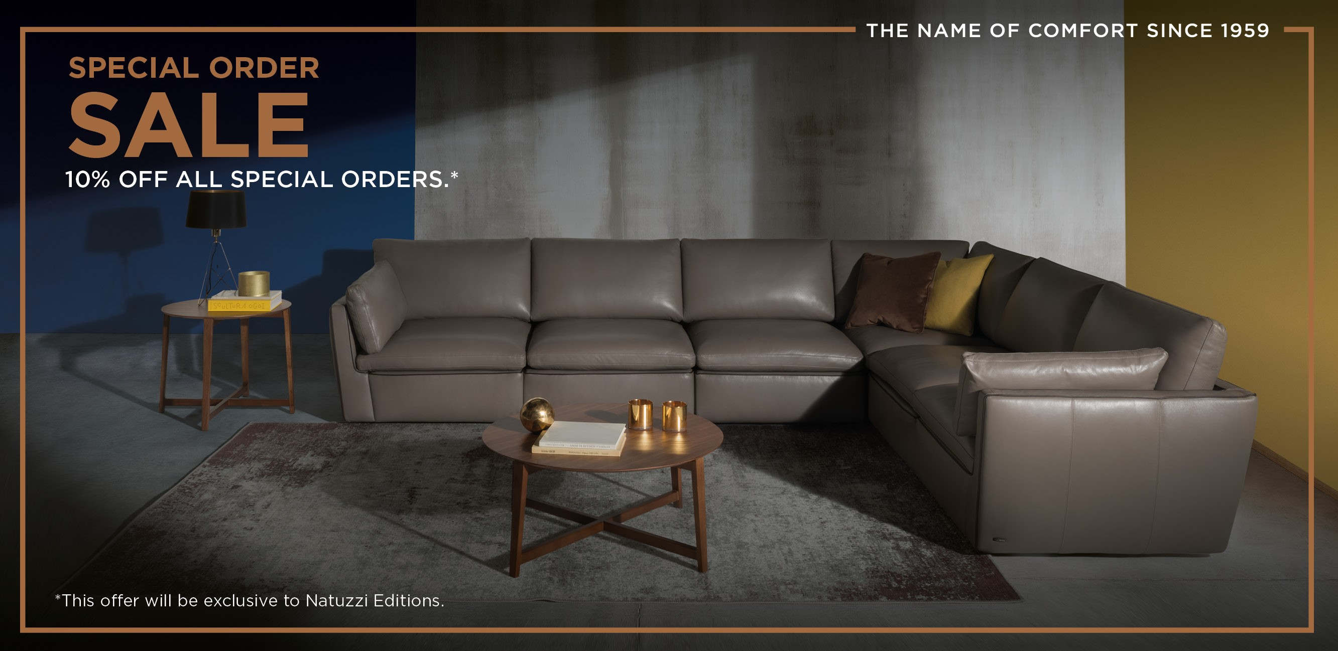 Save 10 On Natuzzi Editions Special Orders