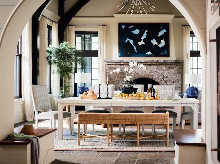 Coastal Living Escape Homecoming Dining Room
