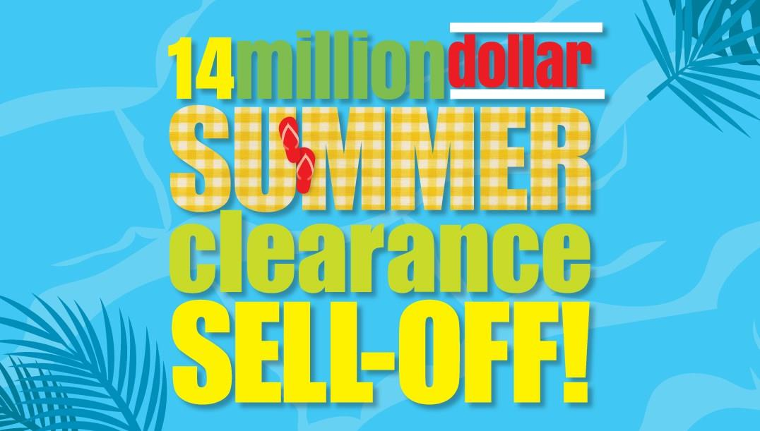 Summer Clearance Sell Off