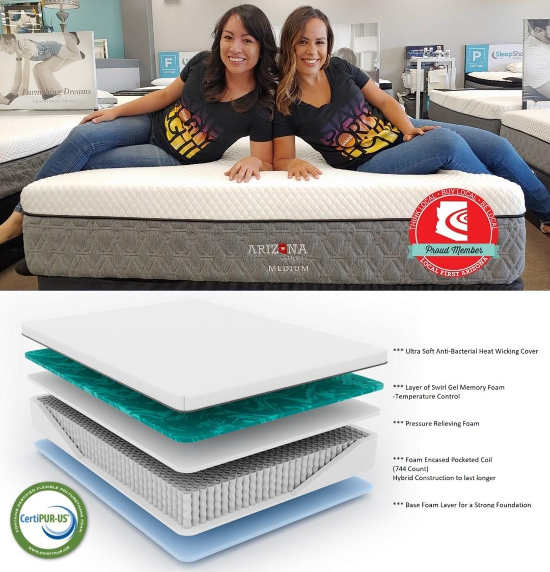 The Mattress that Supports YOU and ARIZONA!